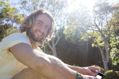 man finding success in a prescription drug detox program